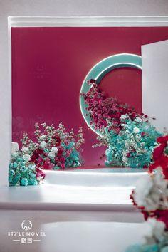 Wedding Backdrop Design, Diy Backdrop, Backdrop Decorations, Flower Decorations, Wedding Decorations, Wedding Mood Board, Wedding Stage, Wedding Events, Flower Wall Wedding