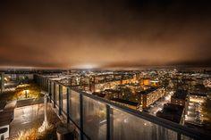 Night view from The Landmark.