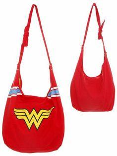 DC Comics Wonder Woman Hobo Bag