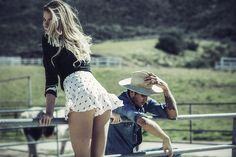 Hailey Clauson In A Western Story for Stone Cold Fox