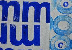 Müllerin Art: Buchstabenmuster (Muster-Mittwoch 50)