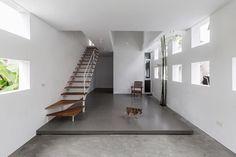 The Cul-de-sac House by Nguyen Khac Phuoc Architects (2/3) #teamarchi #pin #house #architecture #architecturelovers #architectureporn