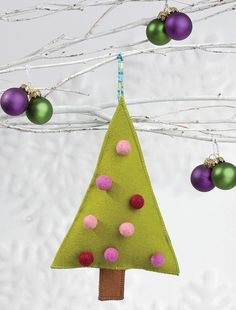 Oh, Dottie Tree Ornament by Martingale | That Patchwork Place, via Flickr