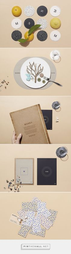 Manna Noto Bistrot Branding by La Tigre | Fivestar Branding Agency – Design and Branding Agency & Curated Inspiration Gallery