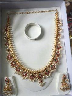 Jewelry Design Earrings, Emerald Jewelry, Ear Jewelry, Pendant Jewelry, Wedding Jewelry, Gold Jewellery, Hyderabadi Jewelry, Indian Jewellery Design, India Jewelry
