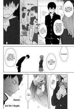 - Usotsuki Canon (Doujinshi) Page 39 - Mangago Kagehina Doujinshi, Kageyama, Hinata, Haikyuu Dj, Funny Yearbook, Luc Besson, Air Gear, Fairy Tail Manga, Strictly Come Dancing