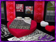 Carino Valentine - bedroom at Abuko Sims 3 - Sims 3 Finds