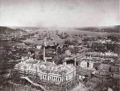 """""""Âli Paşa Konağı, #Mercan, #İstanbul Foto: Pascal #Sébah, 1860'lar #SALTAraştırma, #FotoğrafArşivi…"""""""