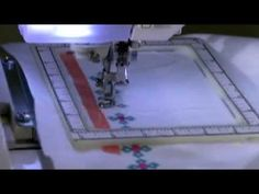 Continuous Machine Embroidery with Snap Hoop - YouTube
