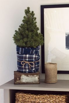 Here are best Blue Christmas Decor Ideas. From Blue Christmas Trees to Blue Christmas Home Decors to Turquoise decor to teal decor ideas / inspo are here. Blue Christmas Decor, Gold Christmas Decorations, Plaid Christmas, Rustic Christmas, All Things Christmas, Winter Christmas, Christmas Home, Christmas Wreaths, Christmas Villages