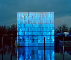LED House Nordwesthaus  Lake Constance, Switzerland  Designed by Baumschlager Eberle