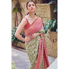Show your support for one of the oldest Indian tie-and-dye techniques by wearing it on the traditional six-yard staple Stylish Sarees, Bollywood Celebrities, My Beauty, Lehenga, Party Wear, Indian, Bridal, Womens Fashion, Model