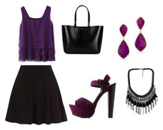 """""""Untitled #24"""" by marce-castaneda on Polyvore featuring Charlotte Russe and Yves Saint Laurent"""