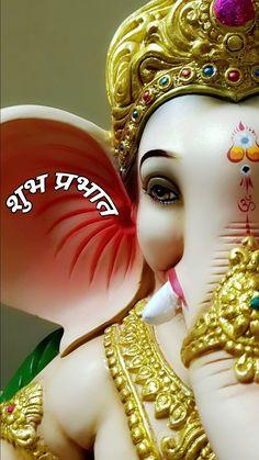 Shri Ganesh Images, Ganesha Pictures, Ganpati Bappa Wallpapers, Baby Ganesha, Ganesh Lord, Ganesh Wallpaper, Bal Krishna, Easy Paper Crafts, Creativity Quotes