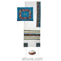 Embroidered Tallit Set
