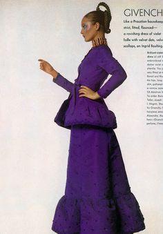 INGRID BOULTING Vogue (US) September 1970 Fashion: Givenchy
