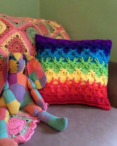 Polish Star Pillow Project - (say that 10 times fast!) | Jenna Wingate Designs