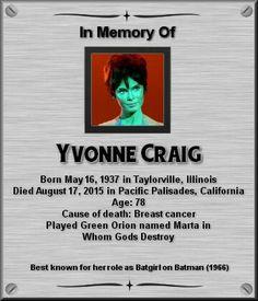 Yvonne Craig Star Trek Crew, Star Trek Tv, Star Wars, Star Trek Ships, Star Trek Actors, Star Trek Characters, Yvonne Craig, Star Trek Images, Star Trek Original Series