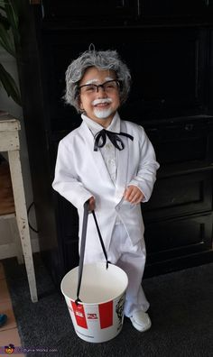 Colonel Sanders - DIY Halloween Costume Idea