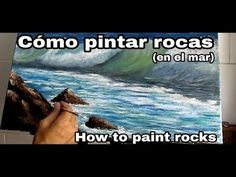 How to paint (sea) rocks in oil. Oil Painting Tips, Painting & Drawing, Watercolor Sea, Lol League Of Legends, Kendo, Art Techniques, Painted Rocks, Art Projects, Paint Brushes