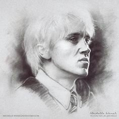 Draco Malfoy by Michelle-Winer.deviantart.com on @DeviantArt