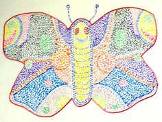 32 ideas butterfly art projects for kids website for 2019 First Grade Art, 2nd Grade Art, Grade 2, Georges Seurat, Brown Art, School Art Projects, Art Lessons Elementary, Butterfly Art, Art Lesson Plans