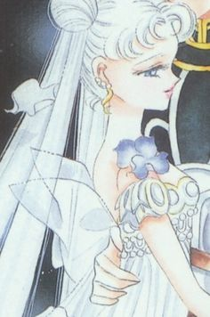 "Princess Serenity's bodice with transparent fairy wings from Naoko Takeuchi's anime and manga series ""Sailor Moon."" I wonder if this design was inspired by the ballet ""La Sylphide""?"