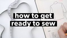 GRWM: How to get ready to sew   WITHWENDY - YouTube