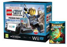 GAMING Nintendo Wii U Console Premium  Lego City & Rayman Pack £239.99