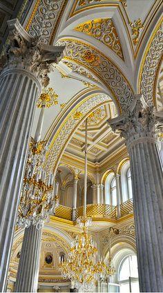 Pushkin Russia :: Catherine Park :: Hermitage Pavilion