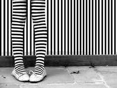 Black & white stripes........where will you get your costume from?