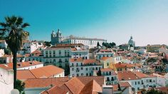 My favourite place in Lisbon ❤☀ #lisbon #lisboa #portugal #miradouro #portasdosol #sunnyday #landscape #summer #roofs #beautiful #view #skyline #love #perfect #breathe #picoftheday @toplisbonphoto