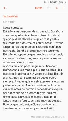 Quisiera, a veces y extraño. Xxxtentacion Quotes, Real Life Quotes, True Quotes, Positive Phrases, Motivational Phrases, Inspirational Quotes, Pretty Quotes, Sad Love Quotes, Words Can Hurt