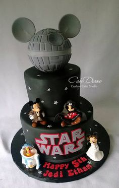 Star Wars BB8 Birthday Cake Kids Birthday Cakes Pinterest