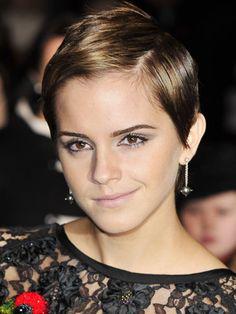 Emma Watson #hair short sexy ...