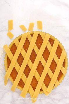 Fruit Pie, Apple Fruit, Italian Cookies, Italian Desserts, Real Food Recipes, Cookie Recipes, Sweet Cooking, Torte Cake, Biscuit Cake