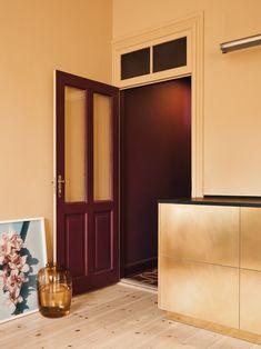 The Golden Brass Stine Goya Kitchen by Reform - Design Milk