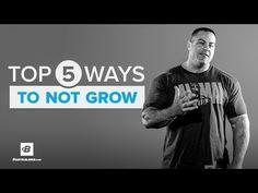 Bodybuilding.com: Top 5 Ways Not To Grow | IFBB Pro Evan Centopani