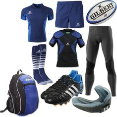 """Rugby Uniform"" by eappah on Polyvore"