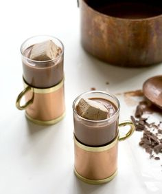 10 Unique hot chocolate recipes…say goodbye to the powdered stuff forever.