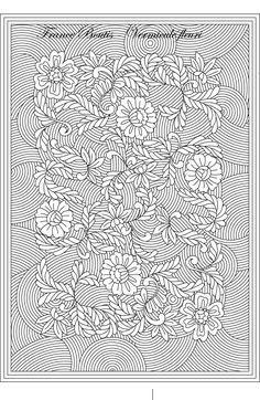 Floral Hummingbird tout fleurit avec amour Rempli coussin 25 cm x 25 cm