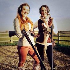 Challenging the misconception that shooting is a man's game, we're inspiring more women to try Pheasant Shooting, Shooting Club, Lady Games, Ladies Who Lunch, Female Form, What To Wear, Pin Up, Challenges, Sports