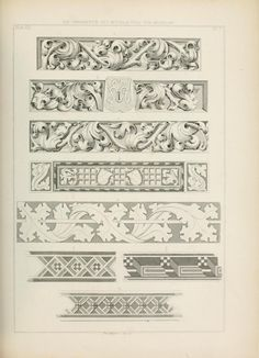 Les ornements du Moyen Age. Die Ornamentik des ...