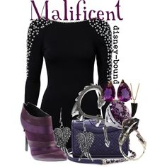 """Malificent"" by disney-bound on Polyvore"
