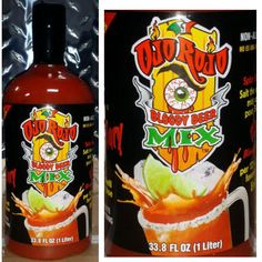 Ojo Rojo Bloody Beer Mix is a Non-Alcoholic drink you mix with your beer of choice. Ojo Rojo is made using Fresh & Natural ingredients so you can experience the ultimate Bloody Beer! Michelada Mix, Non Alcoholic Drinks, Beer, Food, Ale, Meal, Essen, Hoods, Meals
