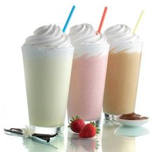 How to Make Secret McDonald's Original Milkshakes Shake Vanilla, Chocolate Malted, Strawberry Smoothie & Shamrock Shake