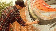 Rone and Meggs' Melbourne Mural – Making Of Clip w/ Sophie Van Den Akker (Clip)