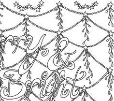 christmas coloring page for printable adult coloring  christmas coloring pages christmas