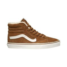 Vans Sk8 Hi Men's ($70) ❤ liked on Polyvore featuring men's fashion and shoes