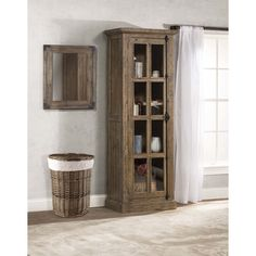 Beautiful Tall Single Door Cabinet